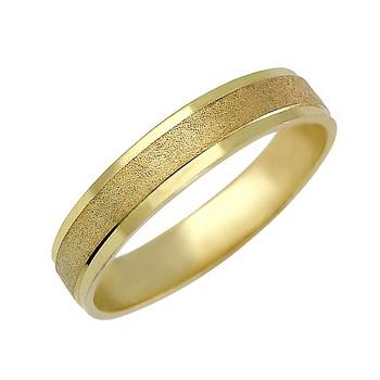 Zlatý snubní prsten č. 362 - 585/2,90g ze žlutého zlata