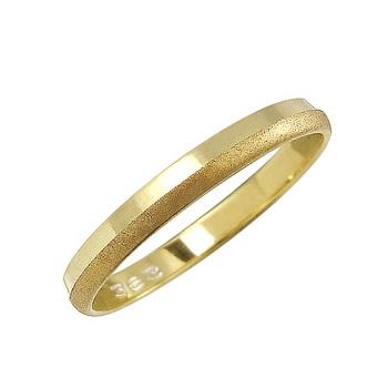 Zlatý snubní prsten č. 363 - 585/1,55g ze žlutého zlata