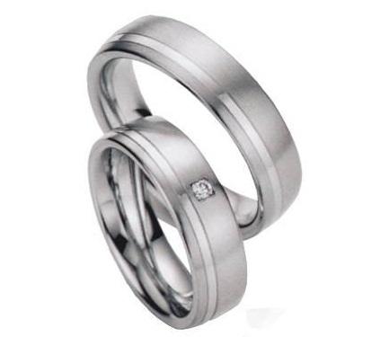 Zlatý snubní prsten GEMS EXCELENT, 206-207 z bílého zlata