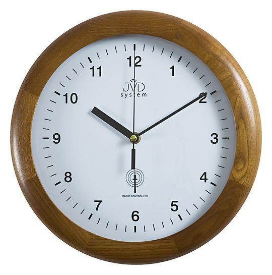 Dřevěné Rádiem řízené hodiny JVD RH 2341.11 - SLEVA