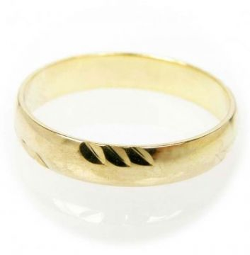 Zlatý snubní prsten č. 3 - 585/2,45g ze žlutého zlata SN5-Soliter 3
