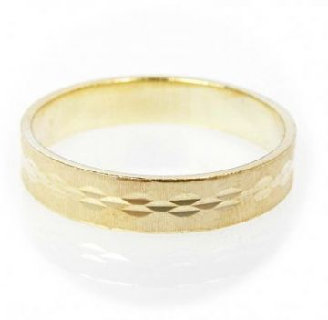 Zlatý snubní prsten č. 9 - 585/2,85g ze žlutého zlata SN5-Soliter 9