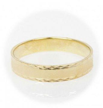 Zlatý snubní prsten č. 26 - 585/2,85g ze žlutého zlata SN5-Soliter 26