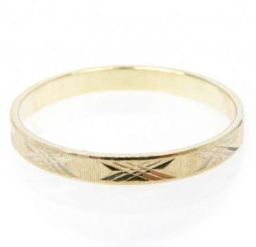 Zlatý snubní prsten č. 28 - 585/1,55g ze žlutého zlata SN5-Soliter 28