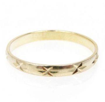 Zlatý snubní prsten č. 34- 585/1,50g ze žlutého zlata SN5-Soliter 34