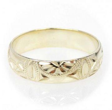 Zlatý snubní prsten č. 137 - 585/3,50g ze žlutého zlata SN5-Soliter 137