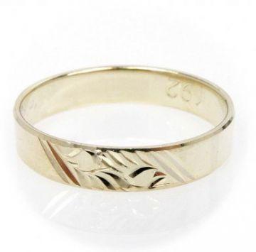 Zlatý snubní prsten č. 192 - 585/2,60g ze žlutého zlata SN5-Soliter 192