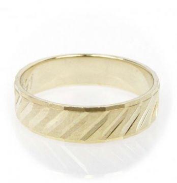 Zlatý snubní prsten č. 291 - 585/2,60g ze žlutého zlata SN5-Soliter 291