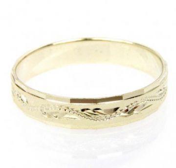 Zlatý snubní prsten č. 280 - 585/2,40g ze žlutého zlata SN5-Soliter 280
