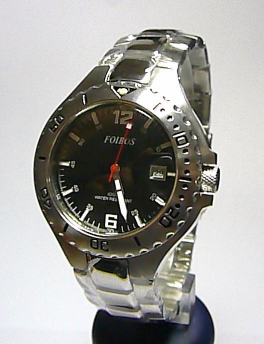 11c18727fe0 Pánské luxusní značkové vodotěsné ocelové hodinky Foibos 2840.2 10ATM