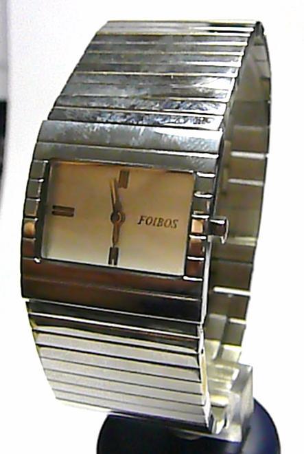 Luxusní moderní dámské ocelové stříbrné hodinky Foibos 9925