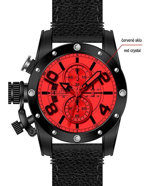 Pánské sportovní hodinky JVD seaplane JS23.1 do ponorky!!