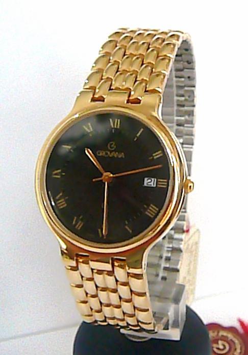 Švýcarské luxusní značkové hodinky Grovana 2033