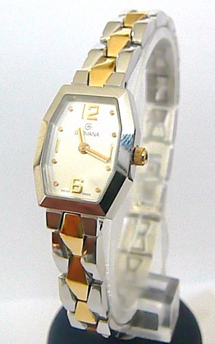 Švýcarské luxusní dámské hodinky Grovana 4013.1 se safírovým sklem - bicolor 6e11c804f4