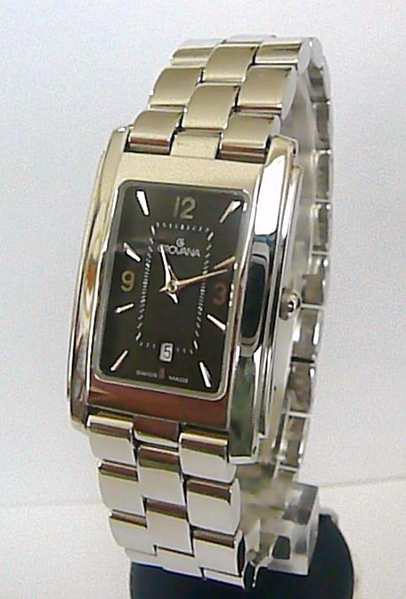 Švýcarské stříbrné dámské hodinky Grovana se safírovým sklem 2072.1