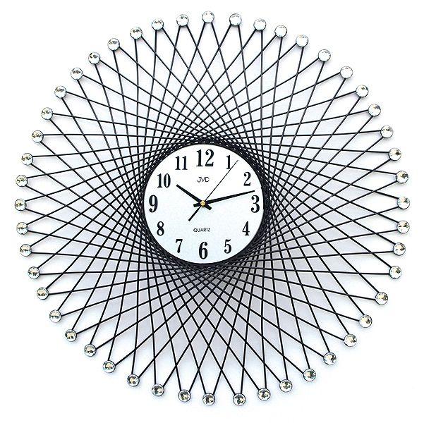 Obrovské luxusní nástěnné designové hodiny JVD HJ14 Ø 67cm