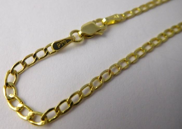 Pánský / dámský mohutný zlatý řetízek 50cm 585/2,50gr 3640158