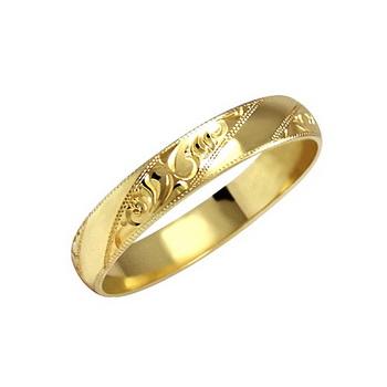 Zlatý snubní prsten č. 19 - 585/2,4g