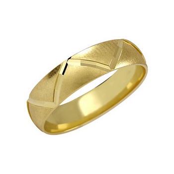 Zlatý snubní prsten č. 106 - 585/3,50g