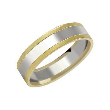 Zlatý snubní prsten č. 154 - 585/3,30g