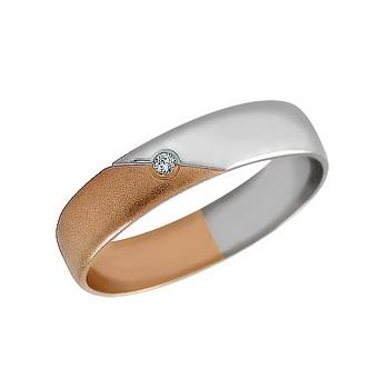 Zlatý snubní prsten č. 160 se zirkony (briliant. vzor) - 585/3,20g