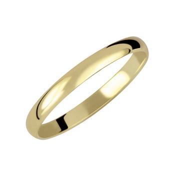 Zlatý snubní prsten č. 339 - 585/1,7g (ze žlutého nebo bílého zlata)