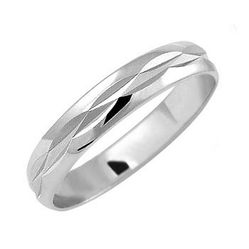 Zlatý snubní prsten č. 347 - 585/2,2g z bílého zlata