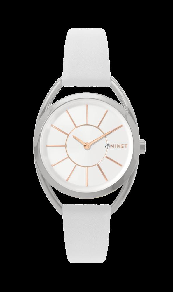 Bílé dámské hodinky MINET ICON ANGEL WHITE MWL5023