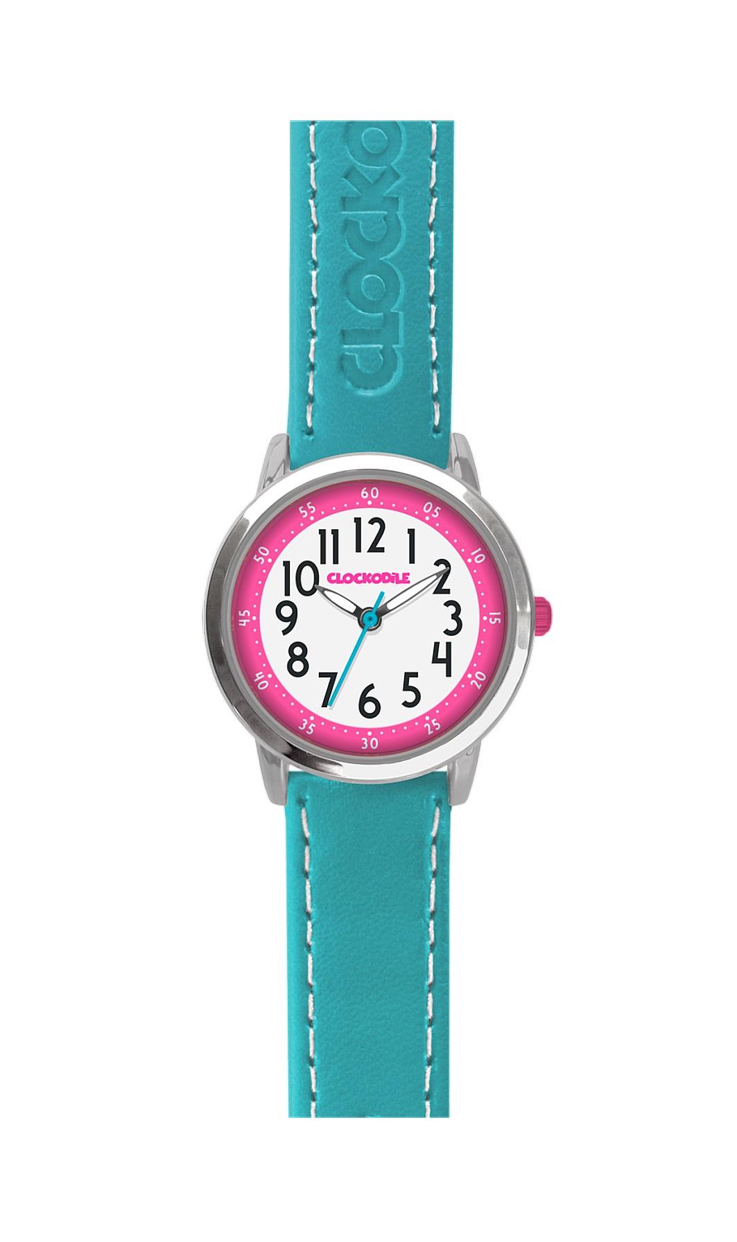 Tyrkysové dětské dívčí hodinky CLOCKODILE COLOUR CWG5011