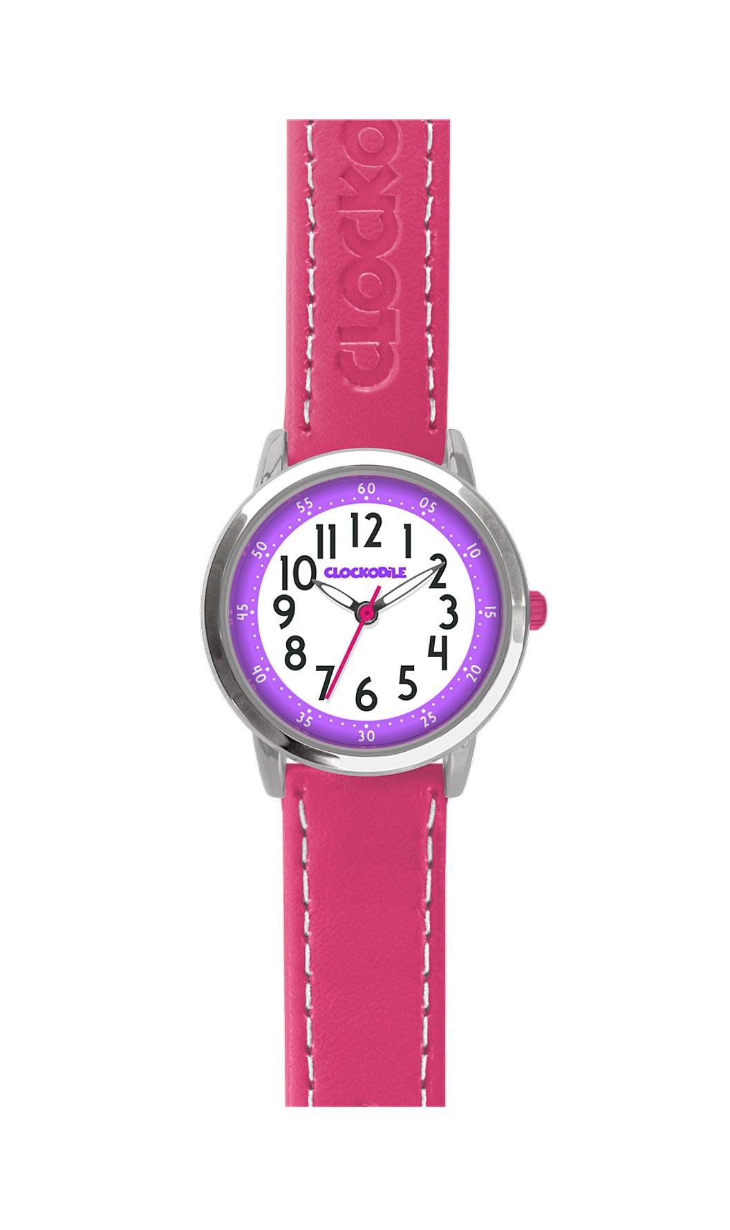 Dětské růžové dívčí hodinky CLOCKODILE COLOUR CWG5010