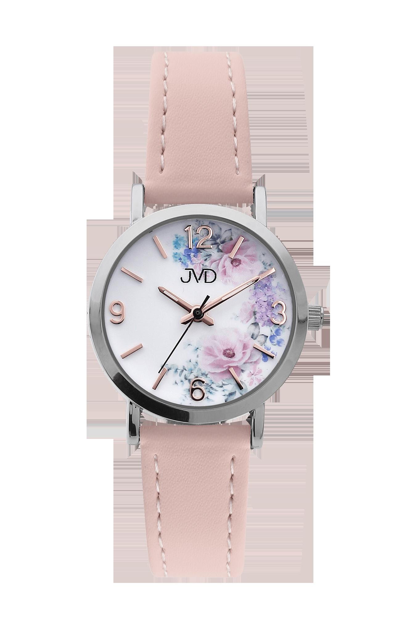 Dětské dívčí přehledné náramkové hodinky JVD J7184.11  c15092aff6d