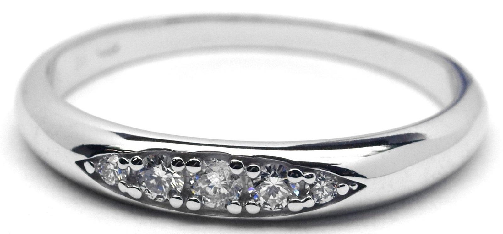 Luxusní diamantový zlatý prsten s diamantem - libovolná velikost J-28239-17
