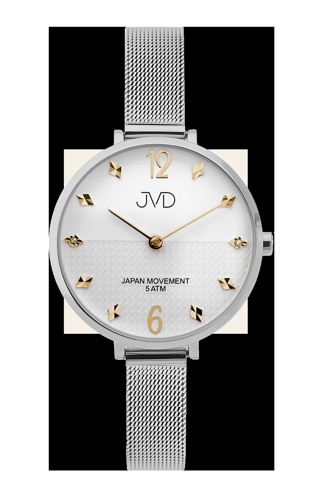 Dámské elegantní ocelové náramkové hodinky JVD J4169.4 db1ce63993