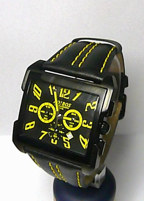 Pánské sportovní náramkové ocelové hodinky Foibos 10870 s chronografem