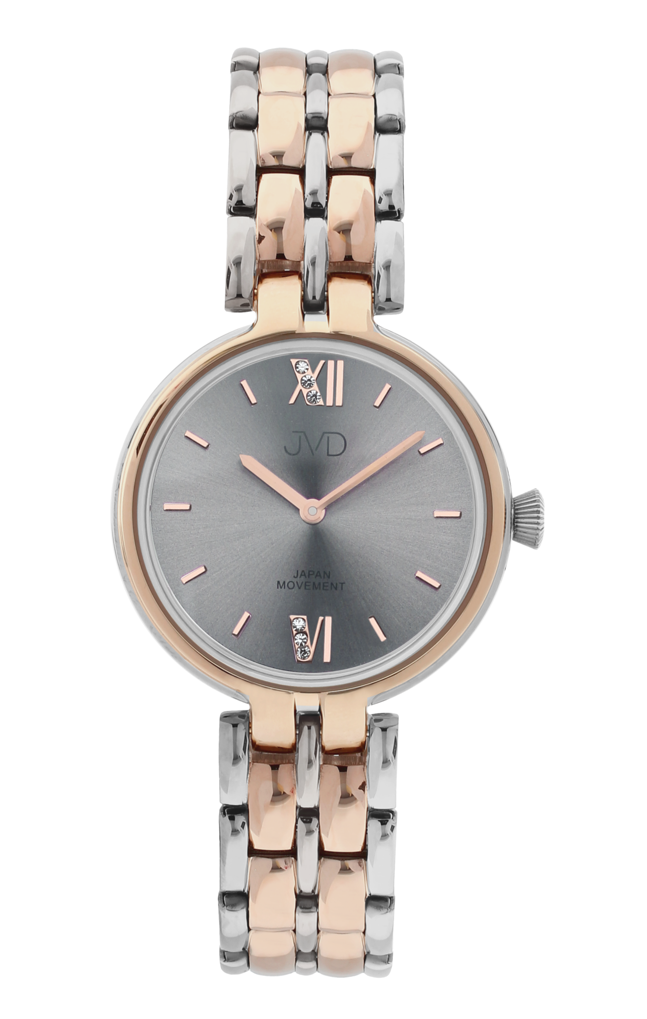 Dámské elegantní šperkové náramkové hodinky JVD JC001.2  266bb42eaad
