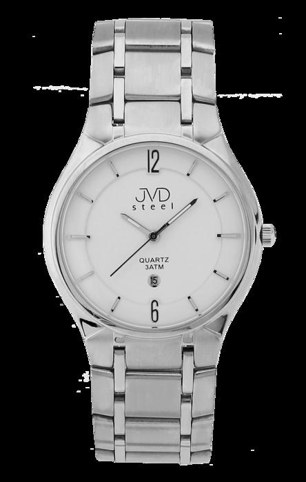 Pánské ocelové náramkové hodinky JVD steel J1042.1