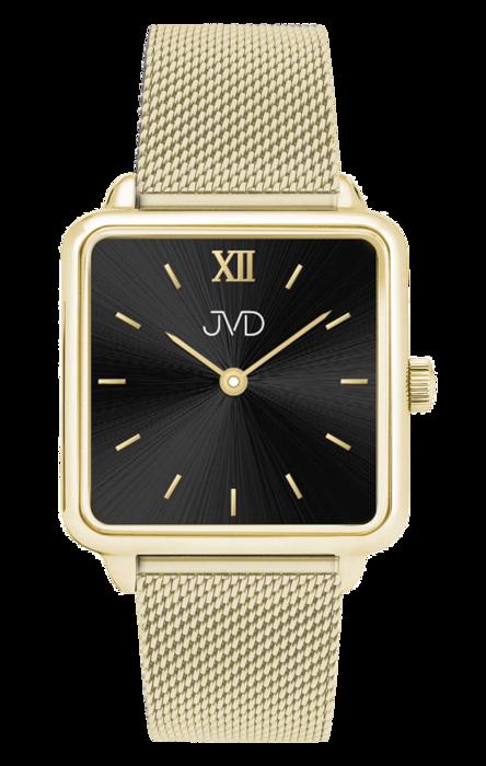 2cfdd6a07 Luxusní dámské elegantní nerezové ocelové hranaté hodinky JVD J-TS22 ...