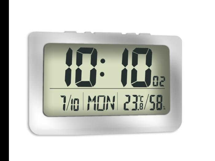 Přesné digitalní hodiny JVD DH1708 s teploměrem