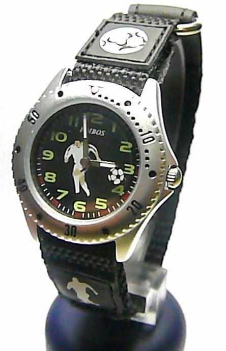 Dětské textilní náramkové hodinky Foibos 2788.1 - fotbalista chlapecké