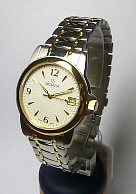 Luxusní kovové švýcarské hodinky Grovana 1500.1142