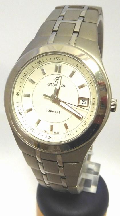 Luxusní švýcarské titanové kovové hodinky Grovana 1535.1192