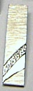 Luxusní diamantový přívěsek z bílého zlata - 5ks DIAMANT 0,025ct 585/2,75gr