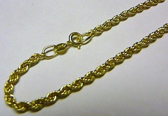 Mohutný luxusní velký zlatý náramek (VALIS) 18cm 585/2,0gr T027