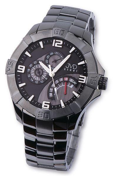 c0c1df18a34 Nerez ocelové pánské luxusní náramkové hodinky JVD steel JA620.5