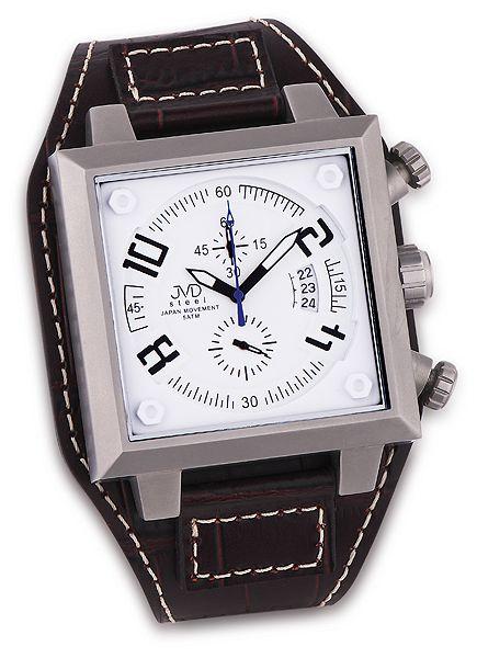 Pánské ocelové náramkové hodinky JVD steel J1055.1