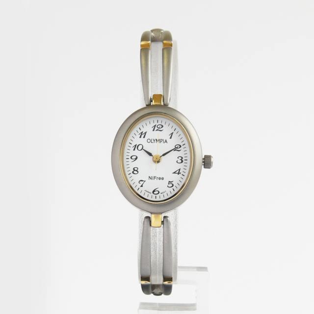 Luxusní dámské titanové moderní hodinky Olympia 10125