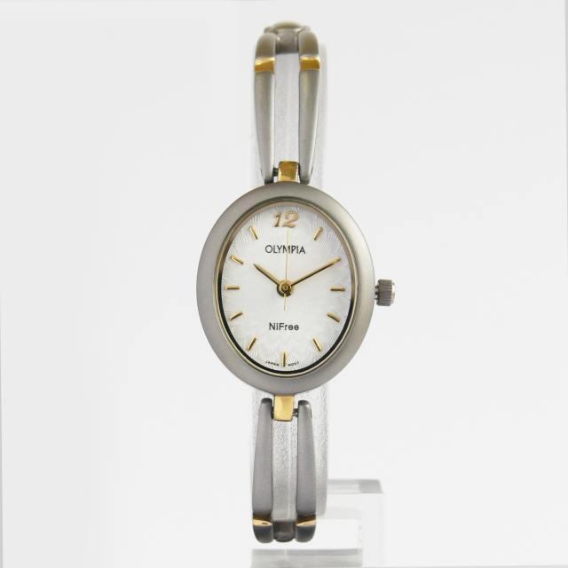 Luxusní dámské titanové moderní hodinky Olympia 10126