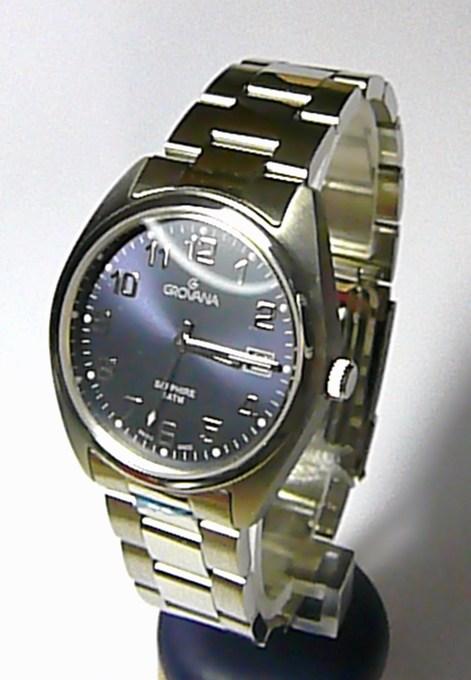 Pánské švýcarské hodinky Grovana 1565.1138 se safírovým sklem 5ATM (1565.1138)