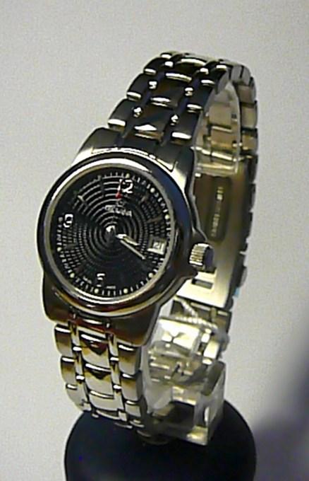 Švýcarské luxusní dámské vodotěsné hodinky Grovana 5500.1137 se safírovým sklem ( 5500.1137)