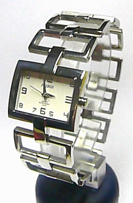 Dámské ocelové stříbrné moderní hodinky Foibos 1833 46f0d3195c1
